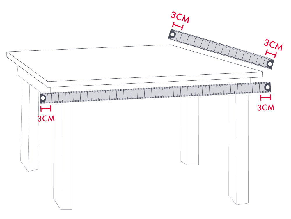 How to Measure Dining Table