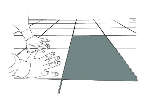 Apply Floor Tiles