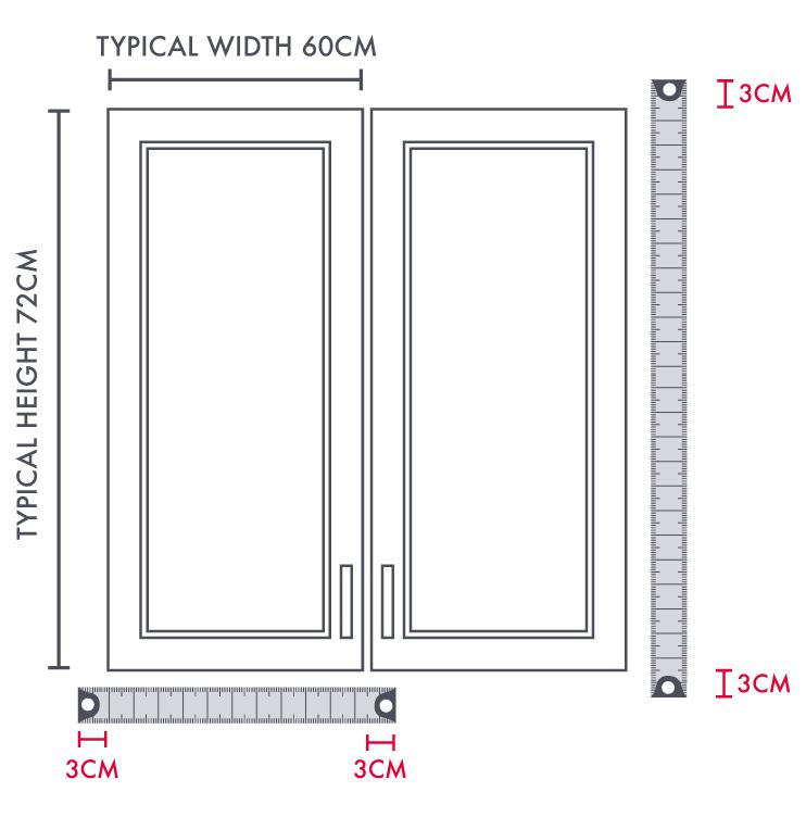 How to measure Kitchen Doors