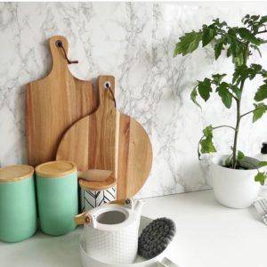Self-adhesive Kitchen Wrap Splashbacks